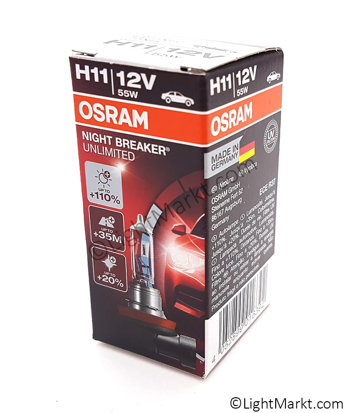 OSRAM H11 Night Breaker Unlimited (+110%) 64211NBU