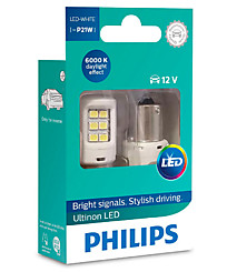 Philips Ultinon LED P21W (BA15s) белые (2 шт.) 11498ULWX2