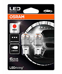 Osram W16W LEDriving Premium RED (2 шт.) 9213R-02B