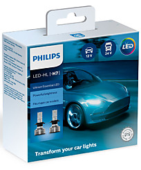 Philips Ultinon Essential LED H7 6500K (2 шт.) 11972UE2X2