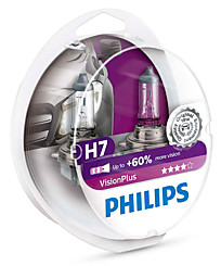 Philips H7 (PX26d) Vision Plus (+60%) (2 шт.) 12972VPS2
