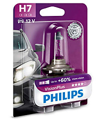 Philips H7 (PX26d) Vision Plus (+60%) 12972VPB1
