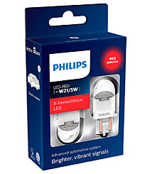 Philips X-tremeUltinon LED gen2 W21/5W (W3x16q) красный (2 шт.) 11066XURX2