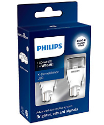 Philips W16W LED 6000K X-tremeUltinon gen2 (2 шт.) 11067XUWX2