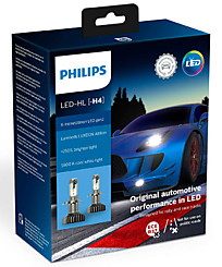 Philips X-tremeUltinon LED gen2 H4 (+250%) 5800K (2 шт.) 11342XUWX2