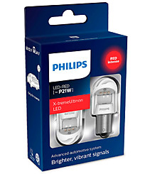 Philips X-tremeUltinon gen 2 LED P21W (BA15s) красные (2 шт.) 11498XURX2