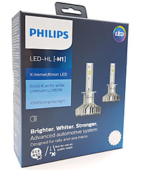 Philips X-tremeUltinon LED H1 (+200%) 6500K (2 шт.) 11258XUX2